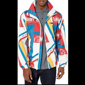 TOMMY HILFIGURE Men's THD printed jacket size S